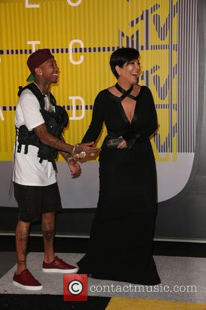 Kris Jenner , Tyga - 2015 MTV Video Music Awards (VMA's) at the Microsoft Theater - Arrivals at The Microsoft...