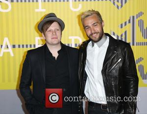 Fall Out Boy, Pete Wentz , Patrick Stump - 2015 MTV Video Music Awards (VMA's) at the Microsoft Theater -...