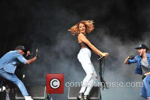 Alesha Dixon - Alesha Dixon performed at Liverpool international Music festival which was held at Sefton Park, Liverpool. - Liverpool,...
