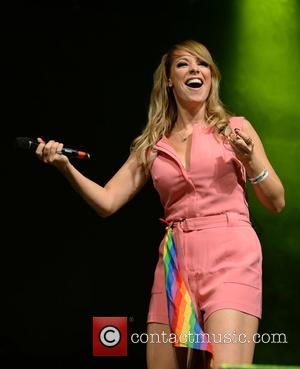 Liz McClarnon - Atomic Kitten perform on main stage at Manchester Pride's The Big Weekend - Manchester, United Kingdom -...