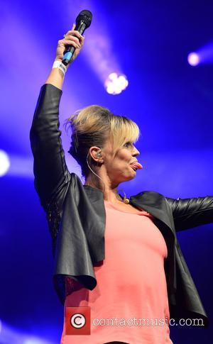 Kerry Katona - Atomic Kitten perform on main stage at Manchester Pride's The Big Weekend - Manchester, United Kingdom -...