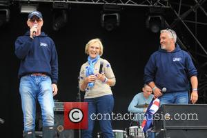 Paul Hollywood, Chris Evans and Mary Berry
