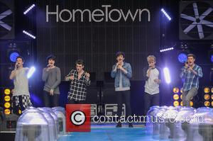 Hometown - Hometown perform live at Fusion Festival with Vimto 2015 at Cofton Park, Birmingham. at Cofton Park - Birmingham,...