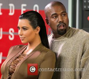 Kim Kardashian , Kanye West - Celebrities attend 2015 MTV Video Music Awards at Microsoft Theater. at Microsoft Theater -...