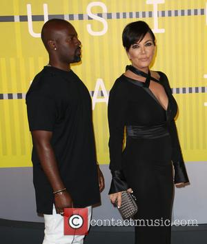 Corey Gamble and Kris Jenner