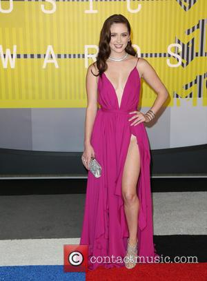 Greer Grammer - Celebrities attend 2015 MTV Video Music Awards at Microsoft Theater. at Microsoft Theater - Los Angeles, California,...