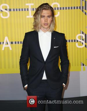 Austin Butler - Celebrities attend 2015 MTV Video Music Awards at Microsoft Theater. at Microsoft Theater - Los Angeles, California,...