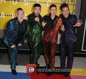 Walk the Moon - Celebrities attend 2015 MTV Video Music Awards at Microsoft Theater. at Microsoft Theater - Los Angeles,...