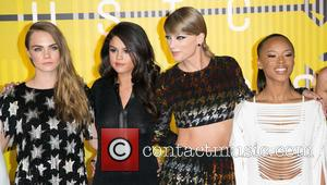 Cara Delevingne, Actress Serayah, Gomez and Taylor Swift