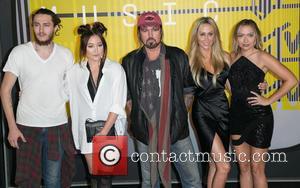 Billy Ray, Braison Cyrus, Noah Cyrus and Brandi Glenn Cyrus