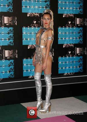Miley Cyrus - The 2015 MTV Video Music Awards at The Microsoft Theater at L.A. Live - Los Angeles, California,...