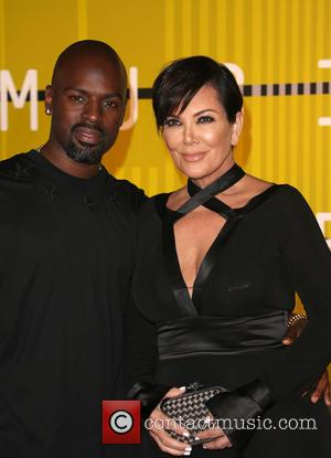 Kris Jenner , Corey Gamble - The 2015 MTV Video Music Awards at The Microsoft Theater at L.A. Live -...