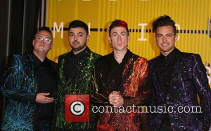 Walk the Moon - The 2015 MTV Video Music Awards at The Microsoft Theater at L.A. Live - Los Angeles,...