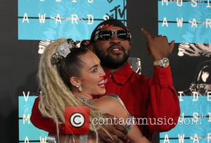 Miley Cyrus , Mike Will made it - The 2015 MTV Video Music Awards at The Microsoft Theater at L.A....