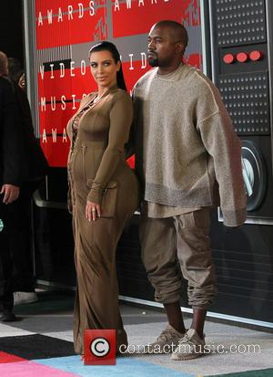 Kim Kardashian , Kanye West - The 2015 MTV Video Music Awards at The Microsoft Theater at L.A. Live -...
