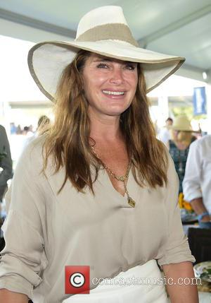 Brooke Shields - Hampton Classic Horseshow in Bridgehampton at Hampton Classic Horseshow - Bridgehampton, New York, United States - Sunday...