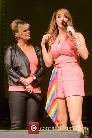 Kerry Katona and Liz McClarnon
