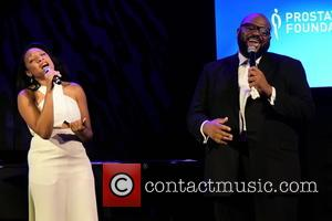 Shelea and Ruben Studdard