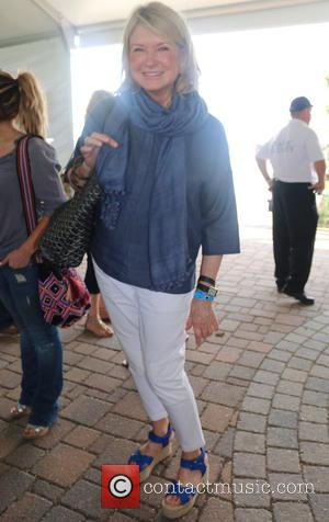 Martha Stewart - 2015 Hampton Classic Horse Show Grand Prix - Bridgehampton, New York, United States - Sunday 30th August...