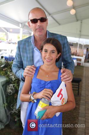 Matt Lauer , Romy Lauer - 2015 Hampton Classic Horse Show Grand Prix - Bridgehampton, New York, United States -...