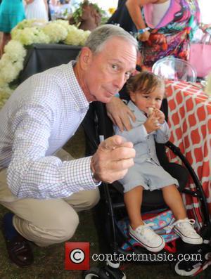 Michael Bloomberg and Jasper Bloomberg