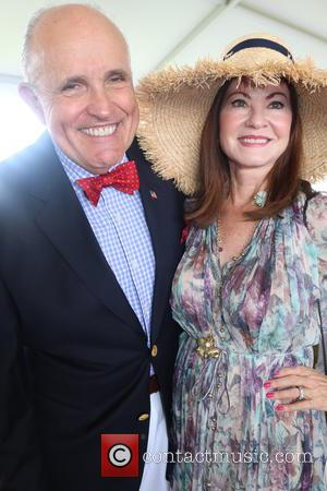 Rudy Giuliani , Judith Giuliani - 2015 Hampton Classic Horse Show Grand Prix - Bridgehampton, New York, United States -...