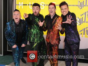 Walk the Moon - 2015 MTV Video Music Awards (VMA's) at the Microsoft Theater - Arrivals - Los Angeles, California,...