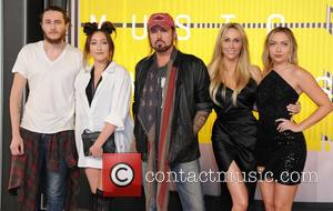 Braison Cyrus, Tish Cyrus, Billy Ray Cyrus, Noah Cyrus and Brandi Cyrus