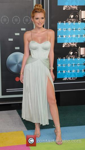 Bella Thorne - 2015 MTV Video Music Awards (VMA's) at the Microsoft Theater - Arrivals - Los Angeles, California, United...