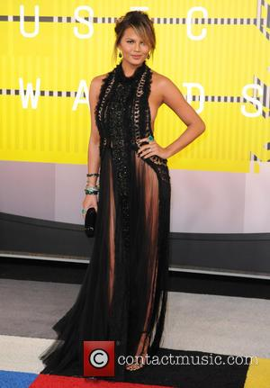 Chrissy Teigen - 2015 MTV Video Music Awards (VMA's) at the Microsoft Theater - Arrivals - Los Angeles, California, United...