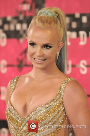Britney Spears - 2015 MTV Video Music Awards (VMA's) at the Microsoft Theater - Arrivals - Los Angeles, California, United...