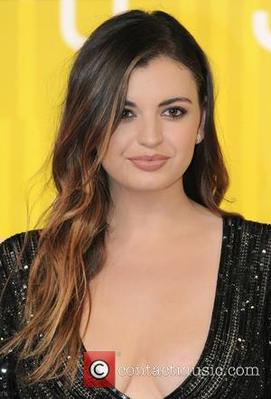 Rebecca Black - 2015 MTV Video Music Awards (VMA's) at the Microsoft Theater - Arrivals - Los Angeles, California, United...