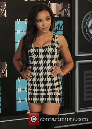 Tinashe - 2015 MTV Video Music Awards (VMA's) at the Microsoft Theater - Arrivals - Los Angeles, California, United States...