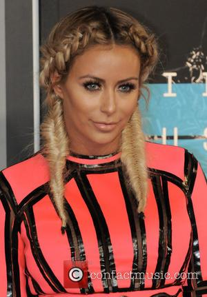 Aubrey O'Day - 2015 MTV Video Music Awards (VMA's) at the Microsoft Theater - Arrivals - Los Angeles, California, United...