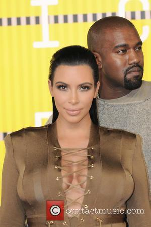 Kim Kardashian , Kanye West - 2015 MTV Video Music Awards (VMA's) at the Microsoft Theater - Arrivals - Los...