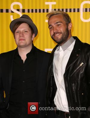 Pete Wentz , Patrick Stump - 2015 MTV Video Music Awards (VMA's) at the Microsoft Theater - Arrivals at The...