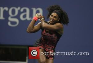 Serena Williams - US Open Tennis 2015 - First Day Games at Billy Jean King National Tennis Center - New...