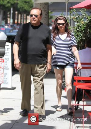Paul Sorvino , Dee Dee Benkie - Paul Sorvino and wife, Dee Dee out and about in Beverly Hills -...