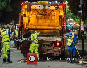 View - Drunks, Nitrous Oxide, the walking wounded and piles of rubbish: The aftermath of the Notting Hill Carnival. at...