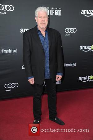 Ron Perlman - German premiere of the Amazon original series 'Hand of God' at Franzoesische Friedrichstadtkirche (french cathedral). at Franzoesische...