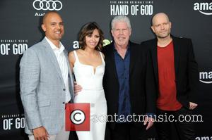 Ben Watkins, Guest, Ron Perlman and Marc Forster
