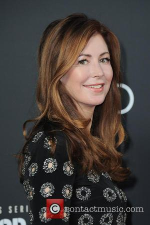 Dana Delany - German premiere of the Amazon original series 'Hand of God' at Franzoesische Friedrichstadtkirche (french cathedral). at Franzoesische...