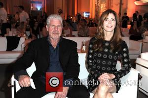 Ron Perlman , Dana Delany - German premiere of the Amazon original series 'Hand of God' at Franzoesische Friedrichstadtkirche (french...