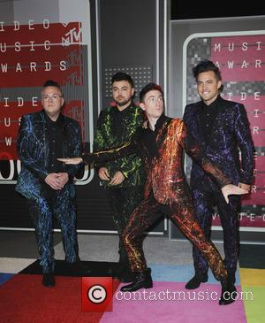 Walk The Moon - The MTV Video Music Awards 2015 Arrivals - Los Angeles, California, United States - Monday 31st...