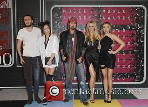 Braison Cyrus, Tish Cyrus, Noah Cyrus, Billy Ray Cyrus and Brandi Glenn Cyrus
