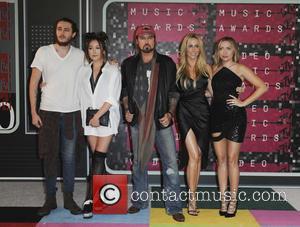 Braison Cyrus, Tish Cyrus, Noah Cyrus, Billy Ray Cyrus and Brandi Glenn Cyrus