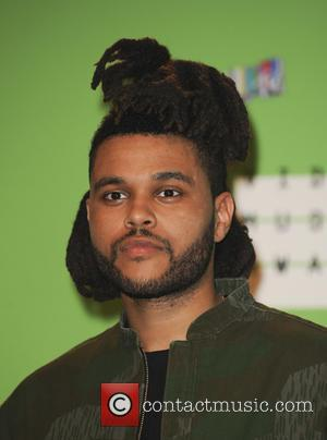 The Weeknd - The MTV Video Music Awards 2015 Pressroom - Los Angeles, California, United States - Monday 31st August...