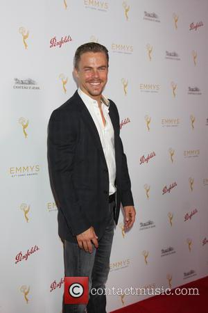 Derek Hough - TV Academy Choreography Peer Reception - Arrivals at Montage Hotel - Beverly Hills, California, United States -...