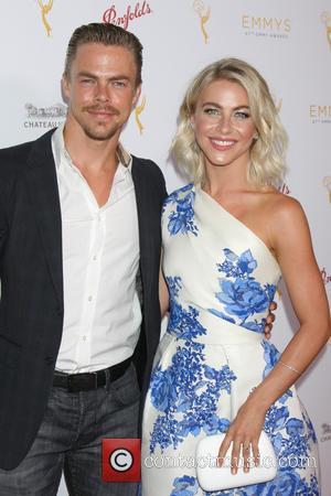 Derek Hough , Julianne Hough - TV Academy Choreography Peer Reception - Arrivals at Montage Hotel - Beverly Hills, California,...