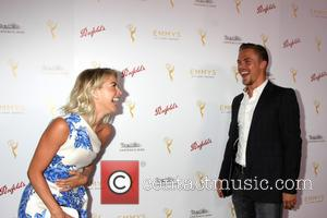 Julianne Hough and Derek Hough